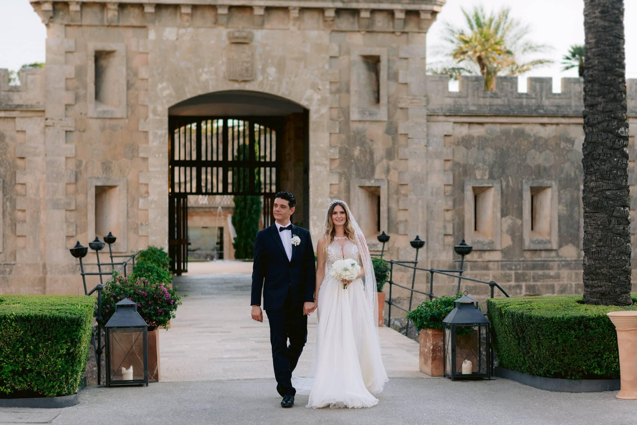 Elopement Wedding at Cap Rocat in Mallorca Spain